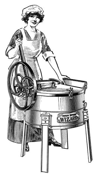 Antique Washing Machine Catalogue Listing Free Graphics