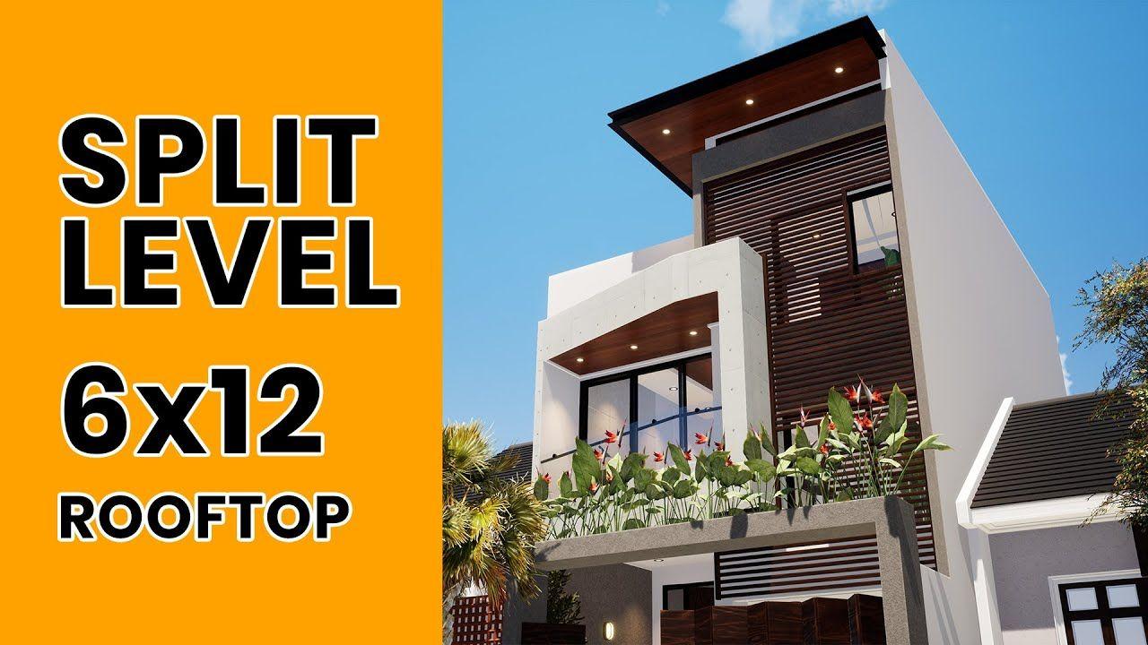 Desain Rumah Minimalis Dengan Rooftop Cek Bahan Bangunan