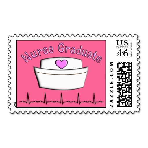 Nurse graduation postage stamps pink nursing graduation nurse nurse graduation postage stamps pink filmwisefo