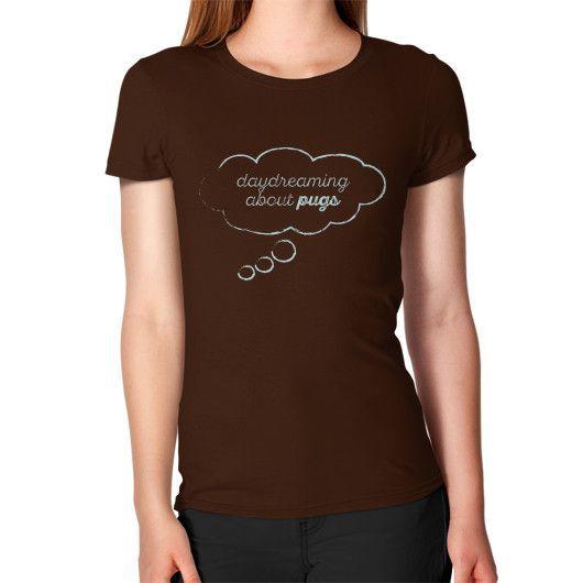 DAY DREAMING PUG Women's T-Shirt