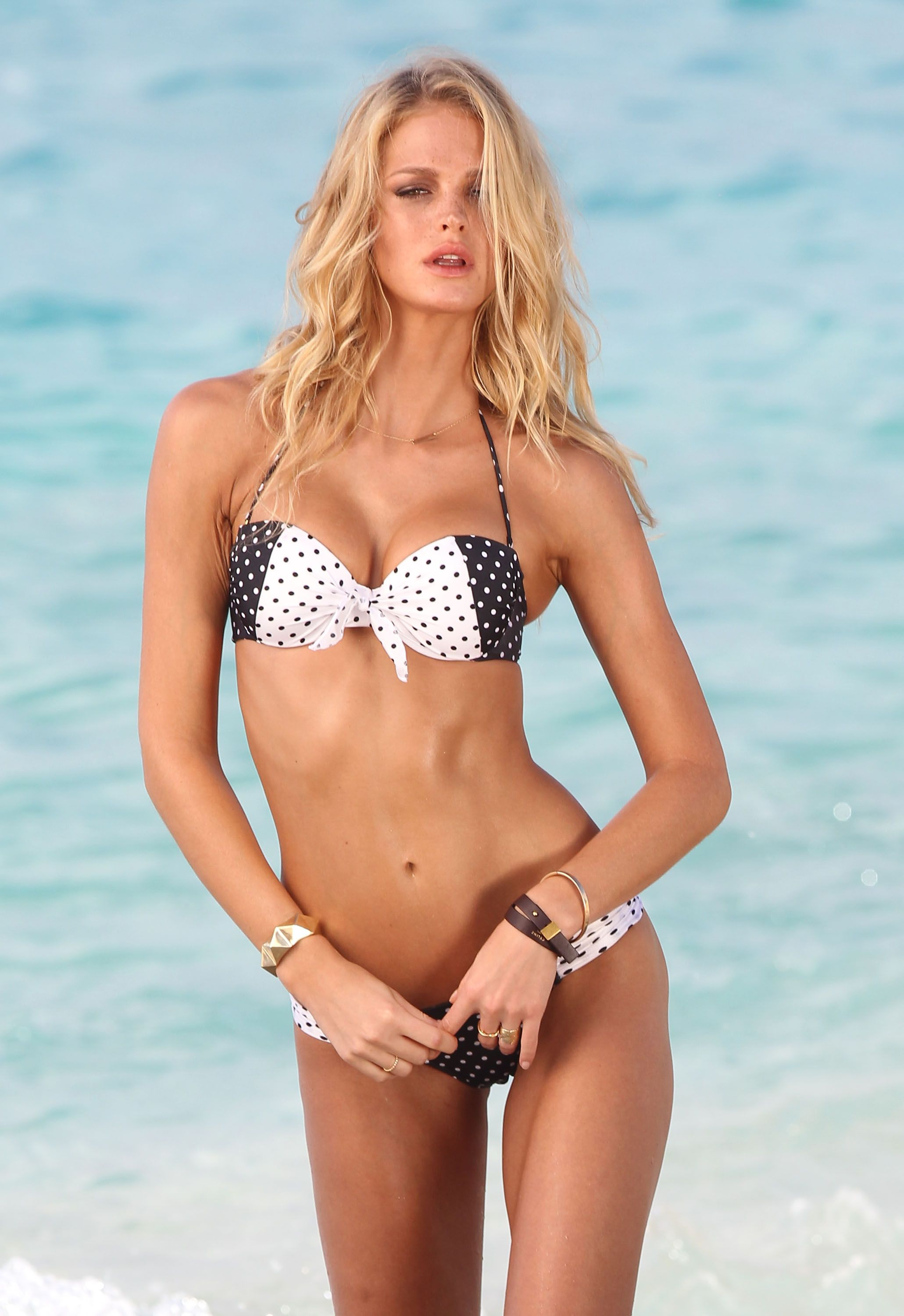 0cc7f0b4c51 Bikini-Clad Erin Heatherton Works Her Sexiest Poses For VS | Sexy ...