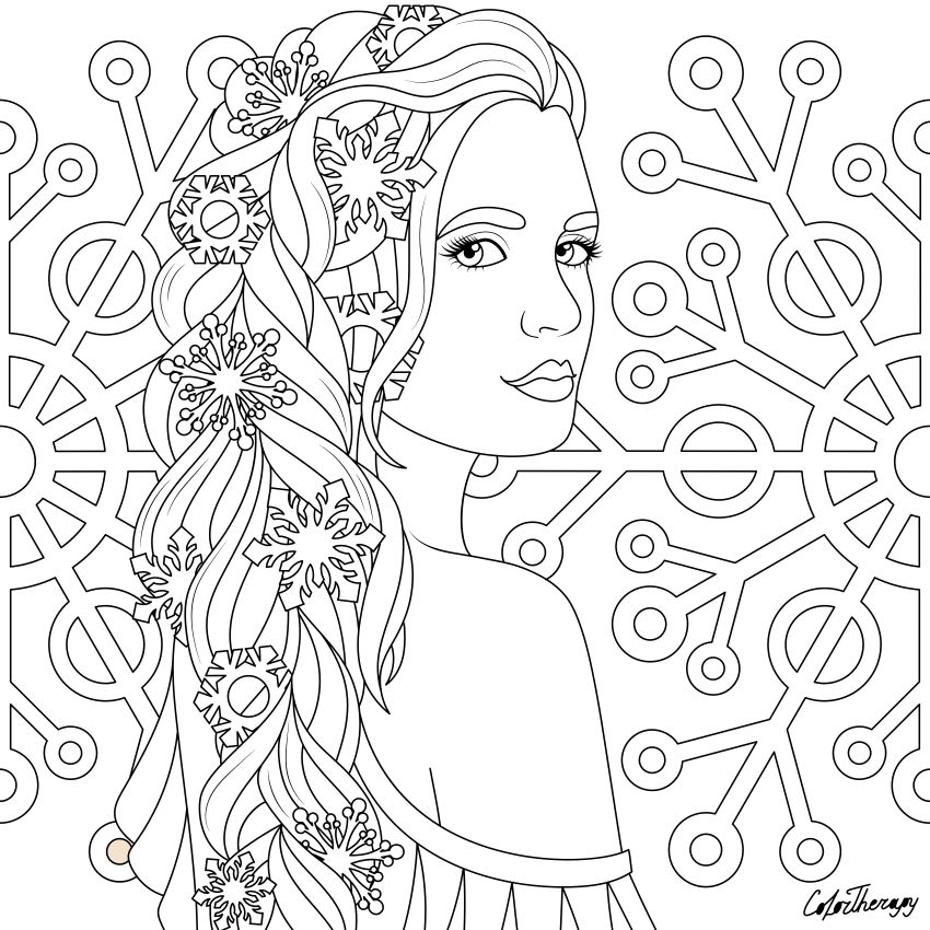 I Colored This Myself Using Color Therapy App For Iphone And Ipad It S So Fun And Relaxing Try Thi Horse Coloring Pages Free Coloring Pages Color Therapy App