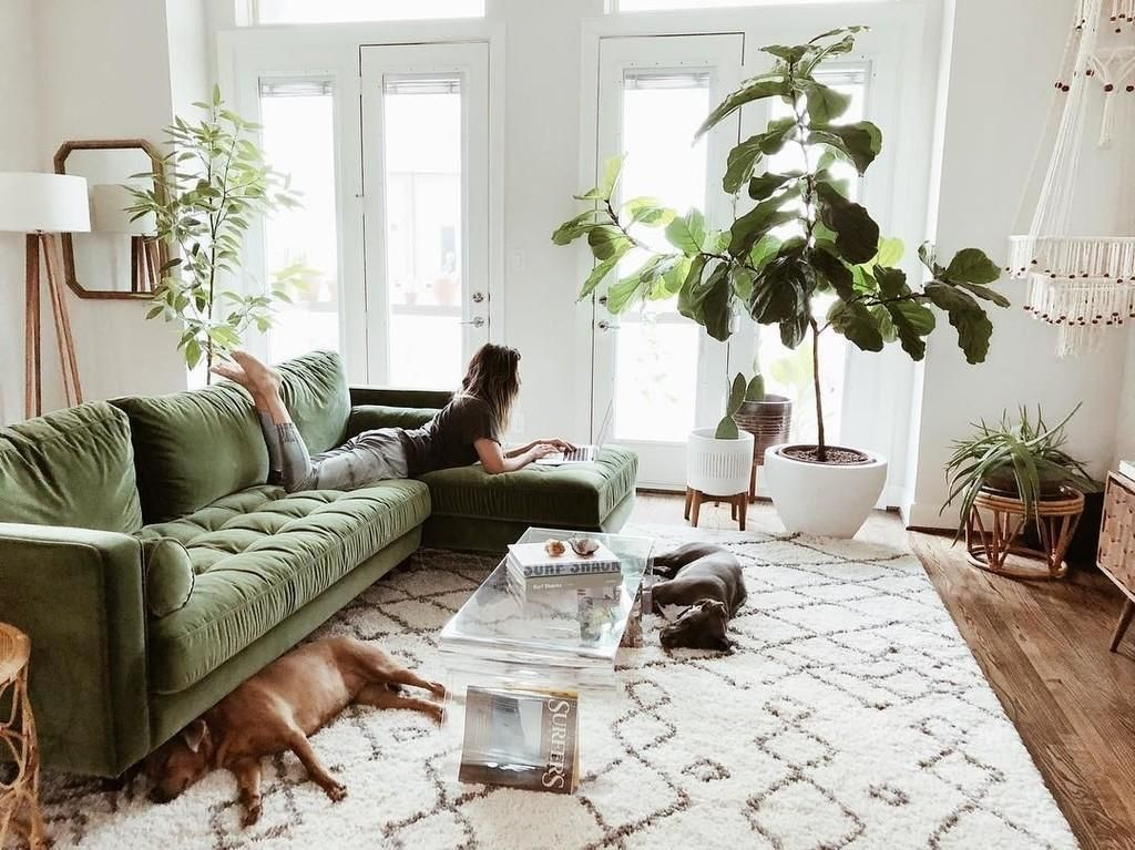 Sven Grass Green Right Sectional Sofa