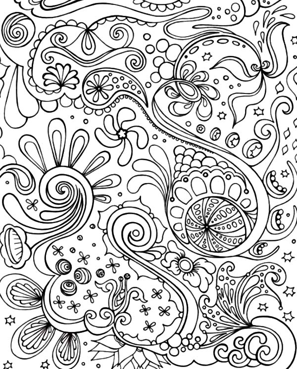 41++ Abstract detailed coloring pages for adults ideas