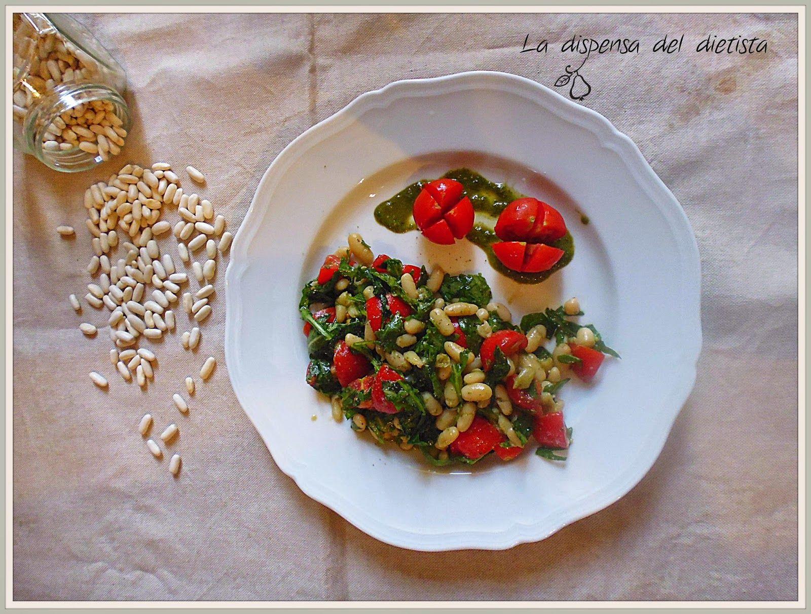 La dispensa del dietista: Insalata di fagioli al pesto