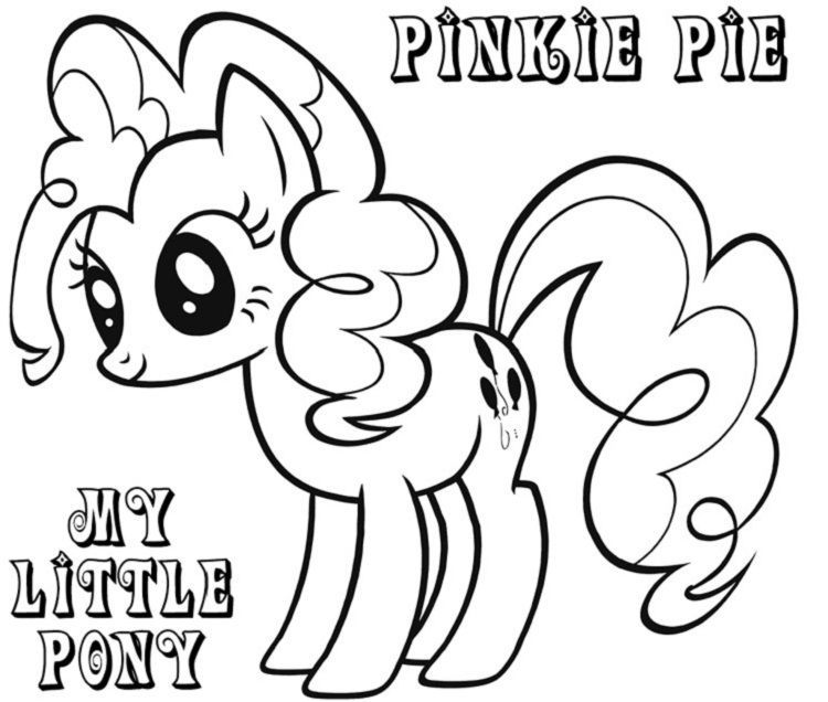 My Little Pony Coloring Pages Pinkie Pie In 2020 My Little Pony Coloring Coloring Pages Valentines Day Coloring Page
