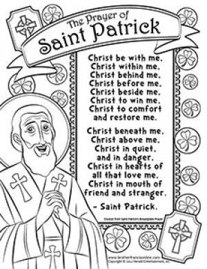 herald store free st patrick coloring pages ccd pinterest