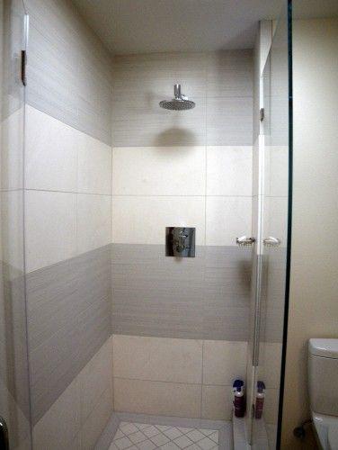Simple Shower Tile Design Bathroom Tiles Shower Shower Tile Designs Shower Tile Beautiful Tile Bathroom