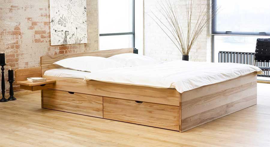 Bett 200x200 IKEA inklusive matratze und 2 schubladen im