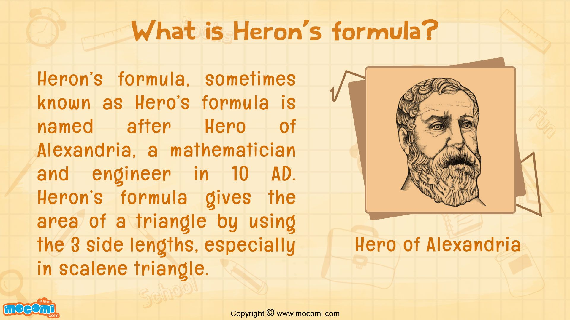 What Is Heron S Formula
