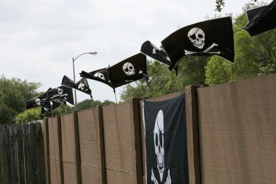 Great decoration idea for a #pirate party