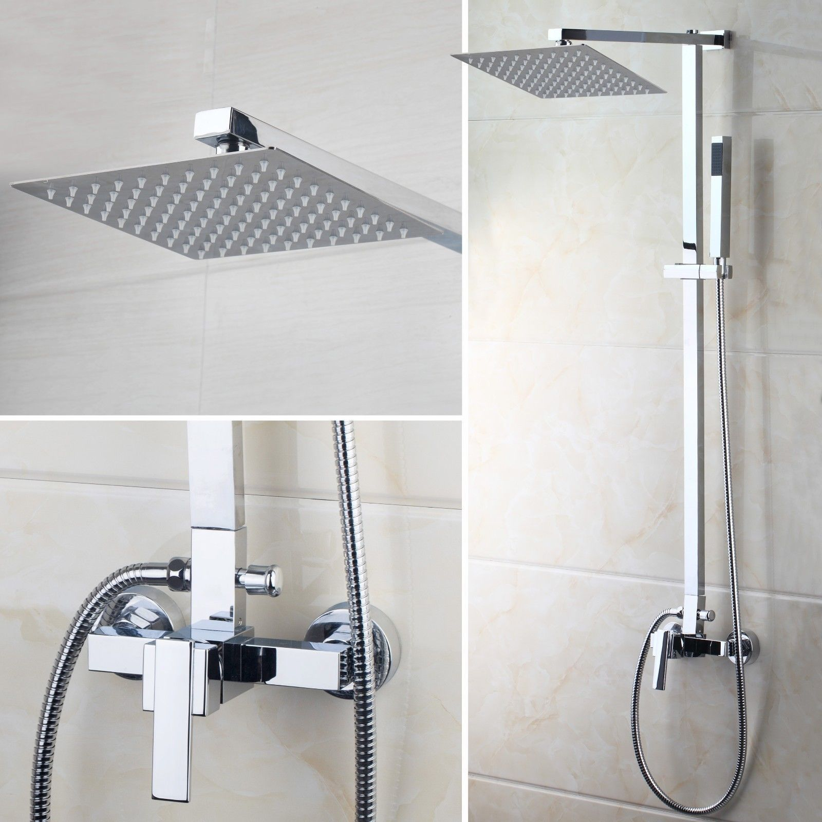 Http Www Ebay Com Itm Us 8 Rain Shower Head Faucet Set Bathtub