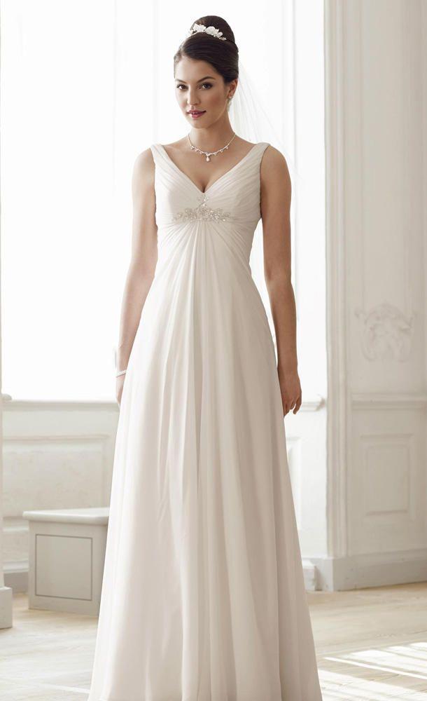 Brautmode fürs Standesamt: DAS sind die schönsten Kleider ...