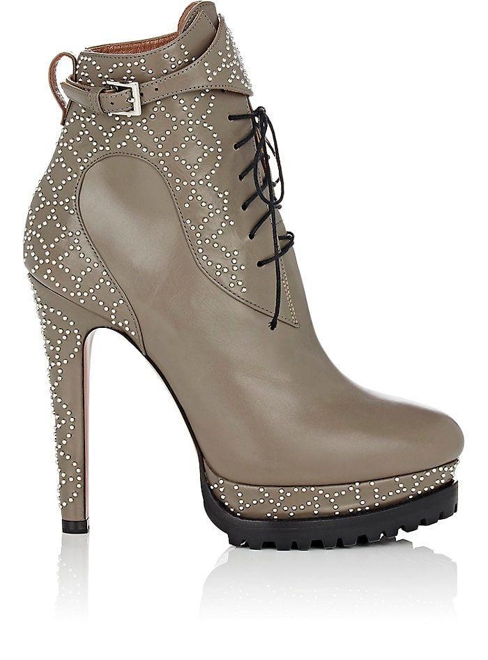 cheap top quality buy cheap genuine Alaïa Studded Platform Ankle Boots great deals cheap price clearance very cheap A6wPFKz4d