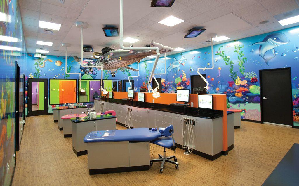 Imagination Dental Solutions Pediatric Dental Office Treatment Rooms Dental Office
