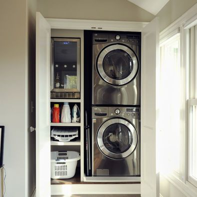 Laundry Closet Design Pictures Remodel Decor And Ideas