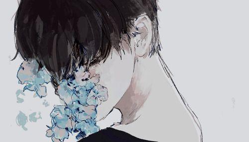 flowers, boy, and anime 이미지