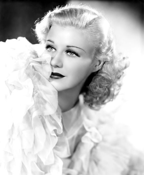 Ginger Rogers, mid-1930s.