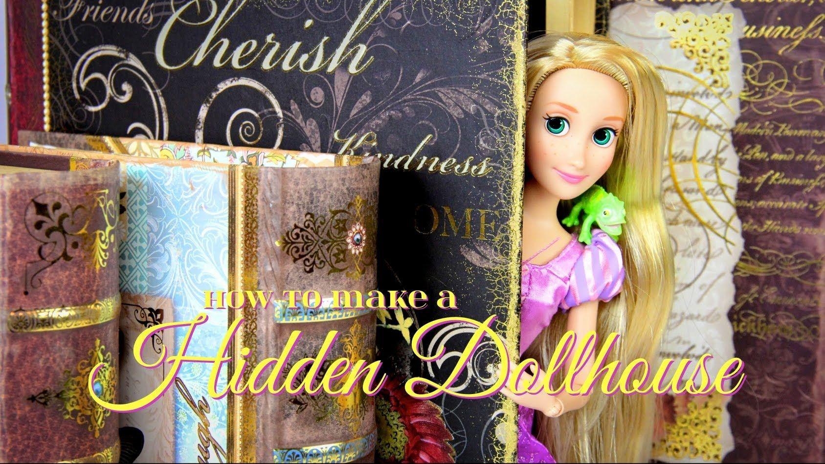 Vedação corrimão How to Make a Hidden Dollhouse