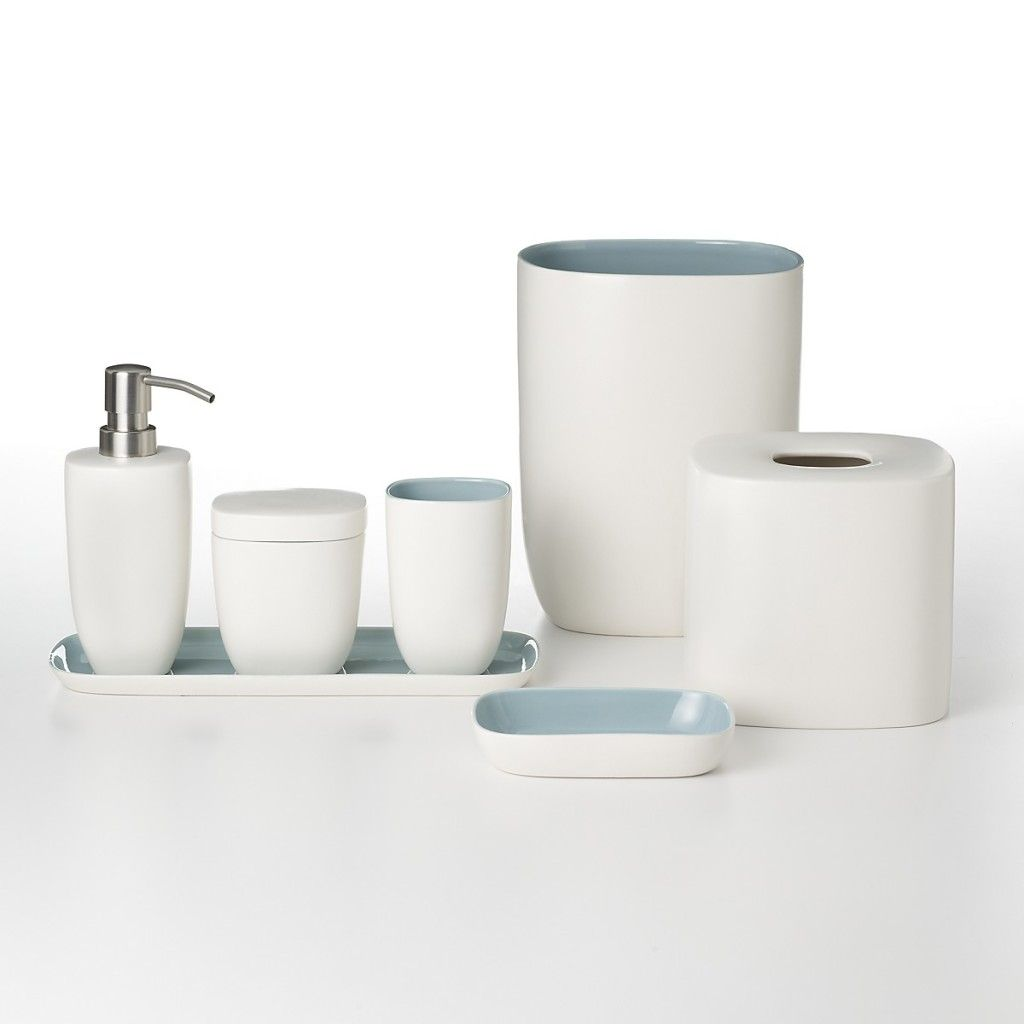 modern bathroom accessories waterworks studio modern ceramic bath accessories - White Bathroom Accessories Ceramic