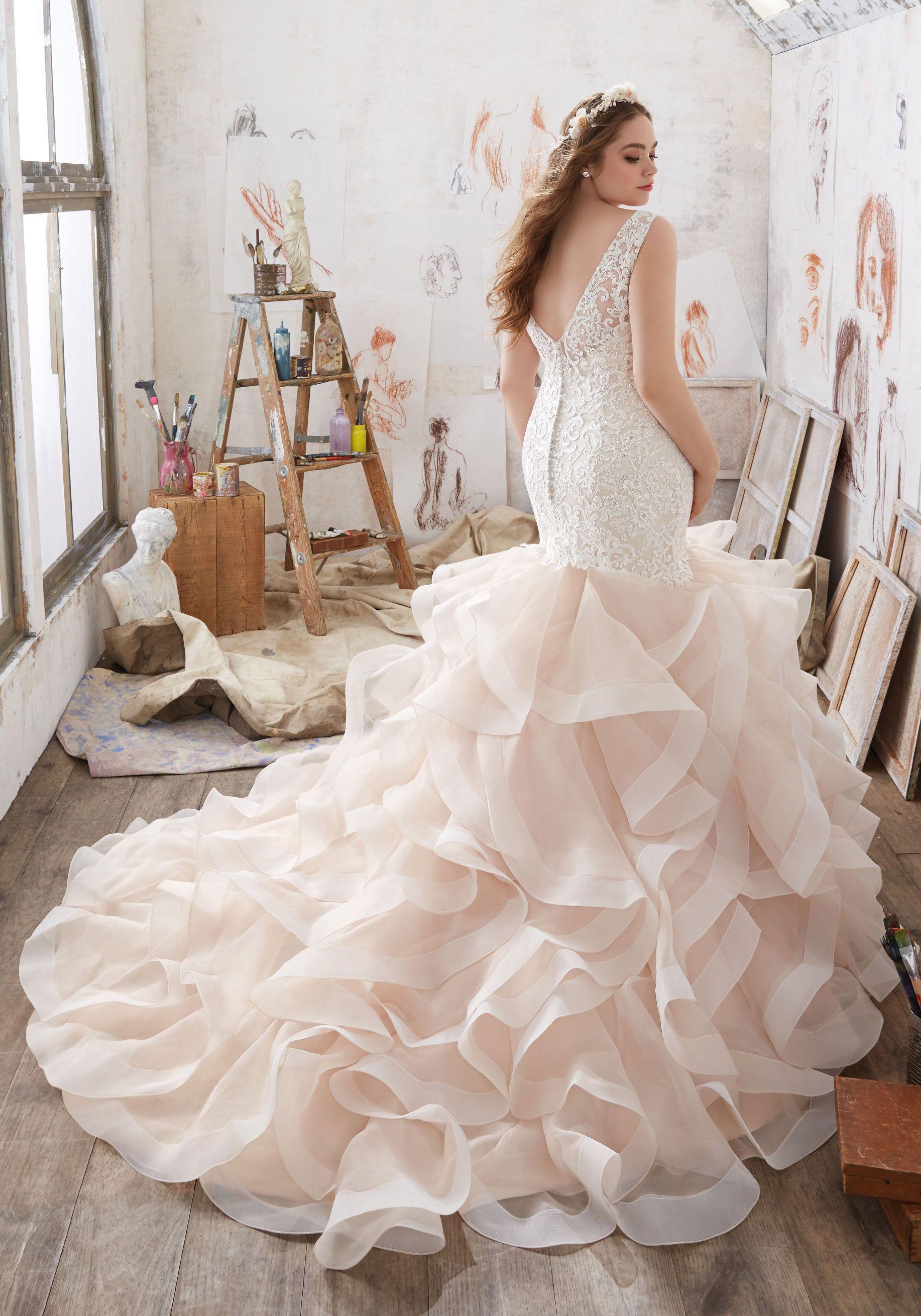 Plus size wedding dress rental  Mildred Wedding Dress  All In White  Pinterest  Wedding dresses