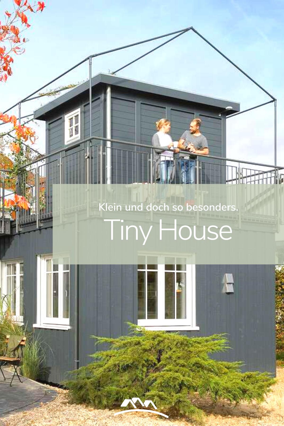 Tiny House als Mini Fertighaus Klein und doch so