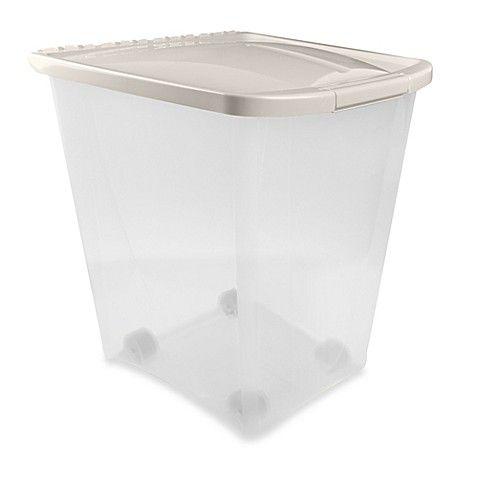 Van Ness 50 Pound Pet Food Container Pet Food Storage Pet Food