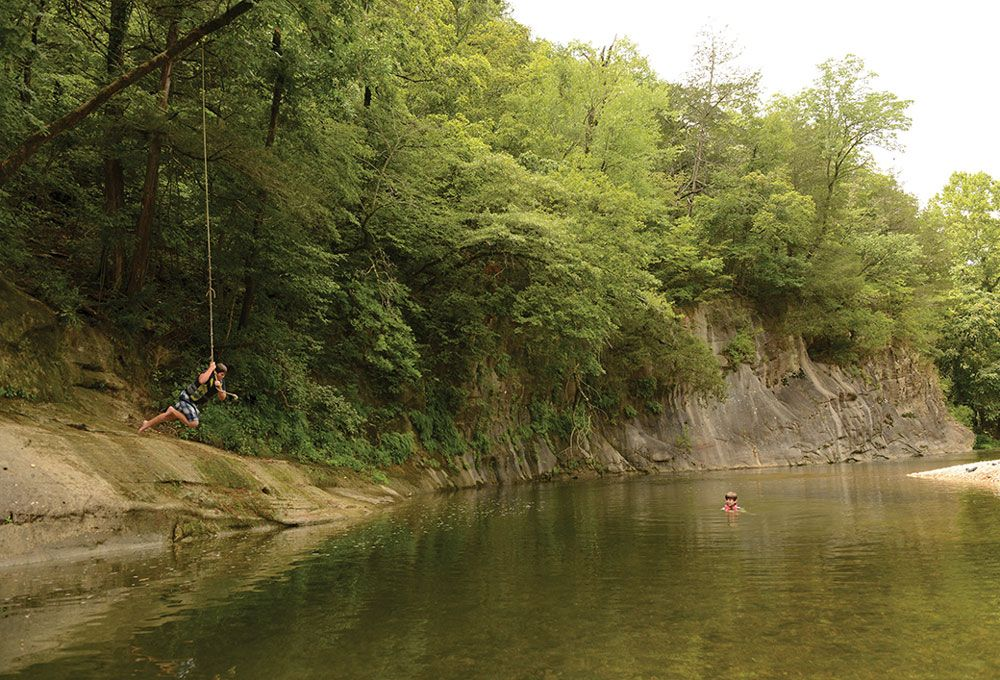 Your search for the perfect Arkansas swimming hole ends here