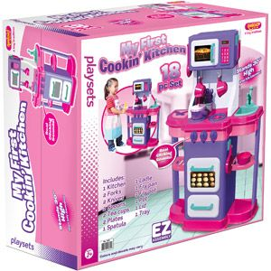 My First Cookin Kitchen Play Set 29 97 I Paid 20 This Christmas Love Products Don T Break Easy