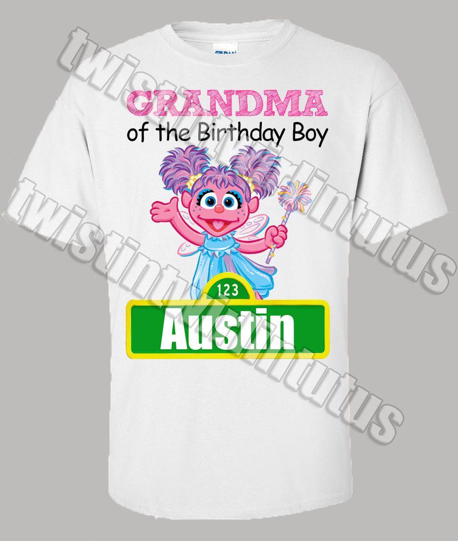 Sesame Street Family Shirts