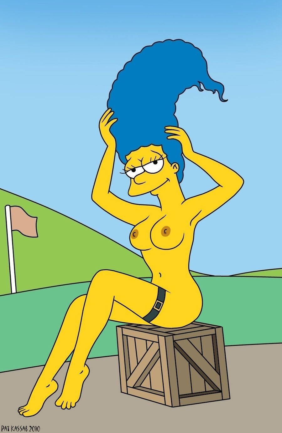 Nude Pictures Of Marge Simpson