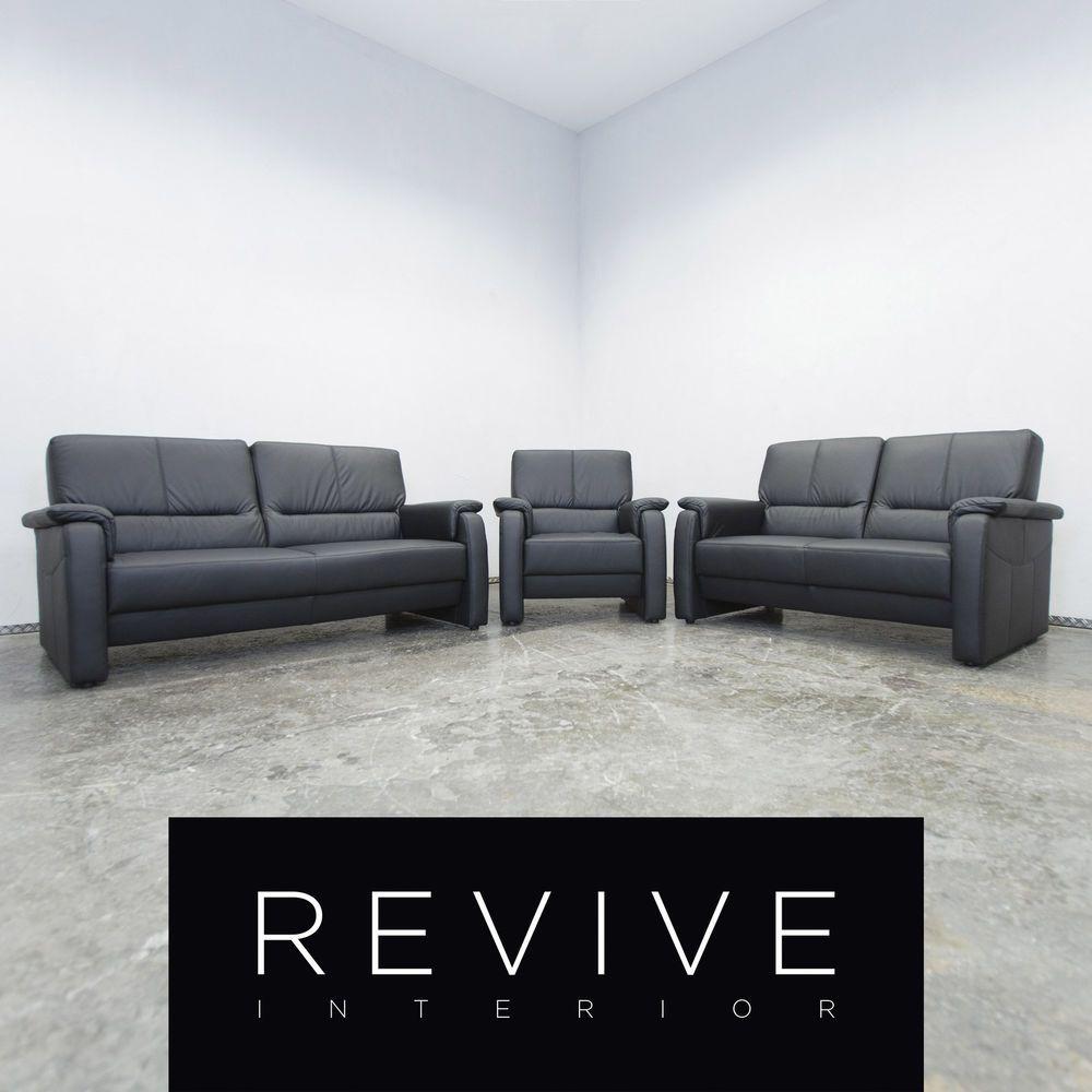 Beeindruckend Leder Sofa Garnitur Referenz Von Corona Milano Designer Dreisitzer Zweisitzer Sessel Couch