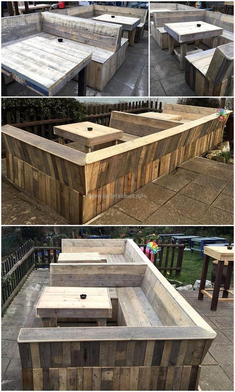 Awesome Wooden Pallets Reusing DIY Ideas | Pallet patio ...