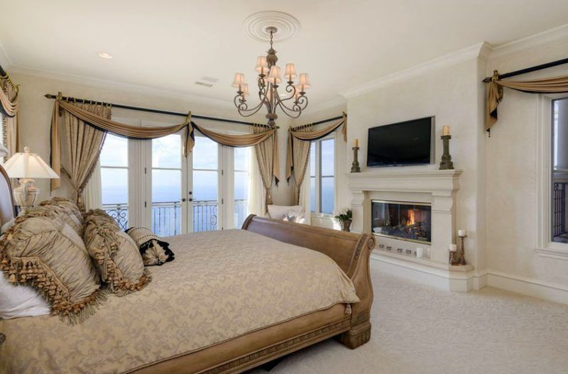Luxury Master Bedrooms With Fireplaces Master Bedroom Design Bedroom Fireplace Master Suite Bedroom