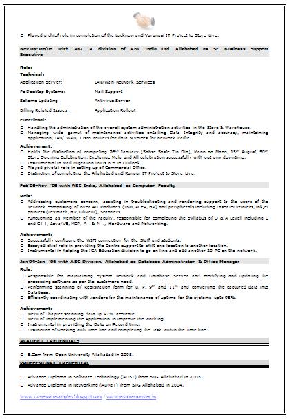 Network Engineer Resume Format 3 Resume Examples Online Resume Network Engineer