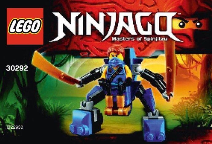 LEGO Ninjago Jay Nano Mech (30292) | Lego | Pinterest ...
