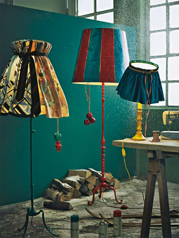 anleitung stehlampen selber machen so geht 39 s. Black Bedroom Furniture Sets. Home Design Ideas