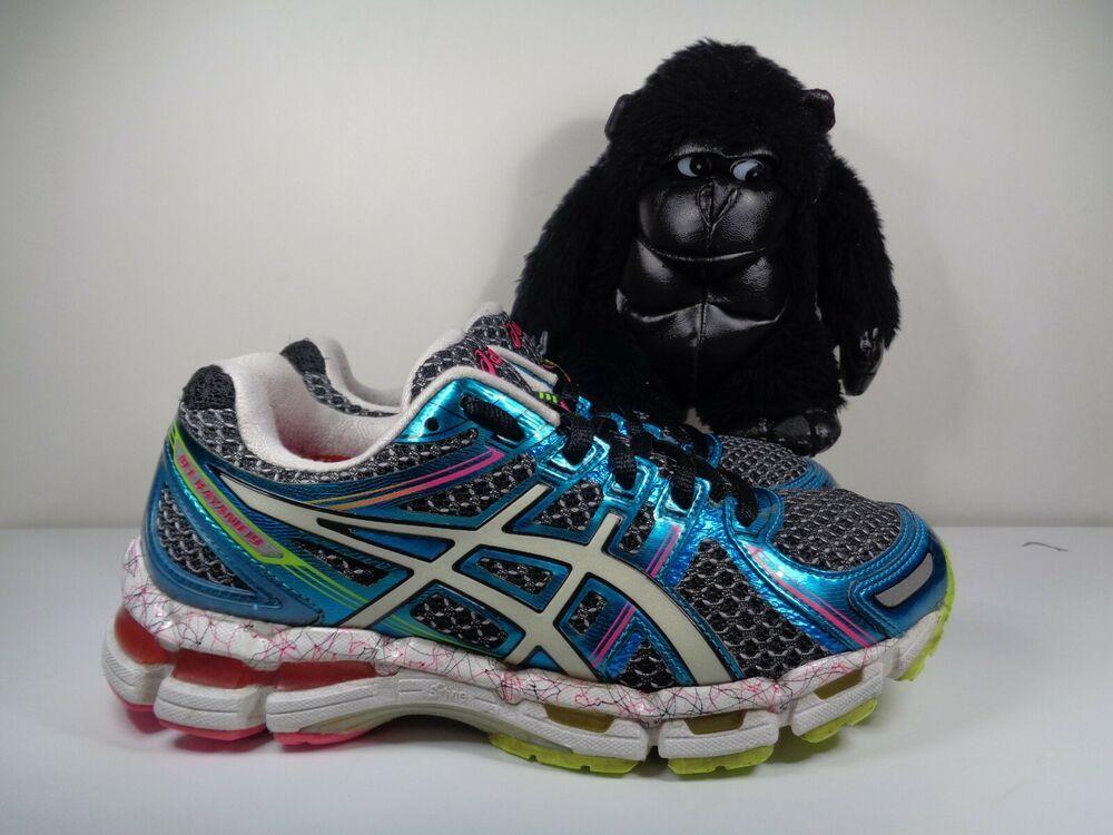 Womens Asics Gel Kayano 19 Running Training Shoes Size 7 Us T392n