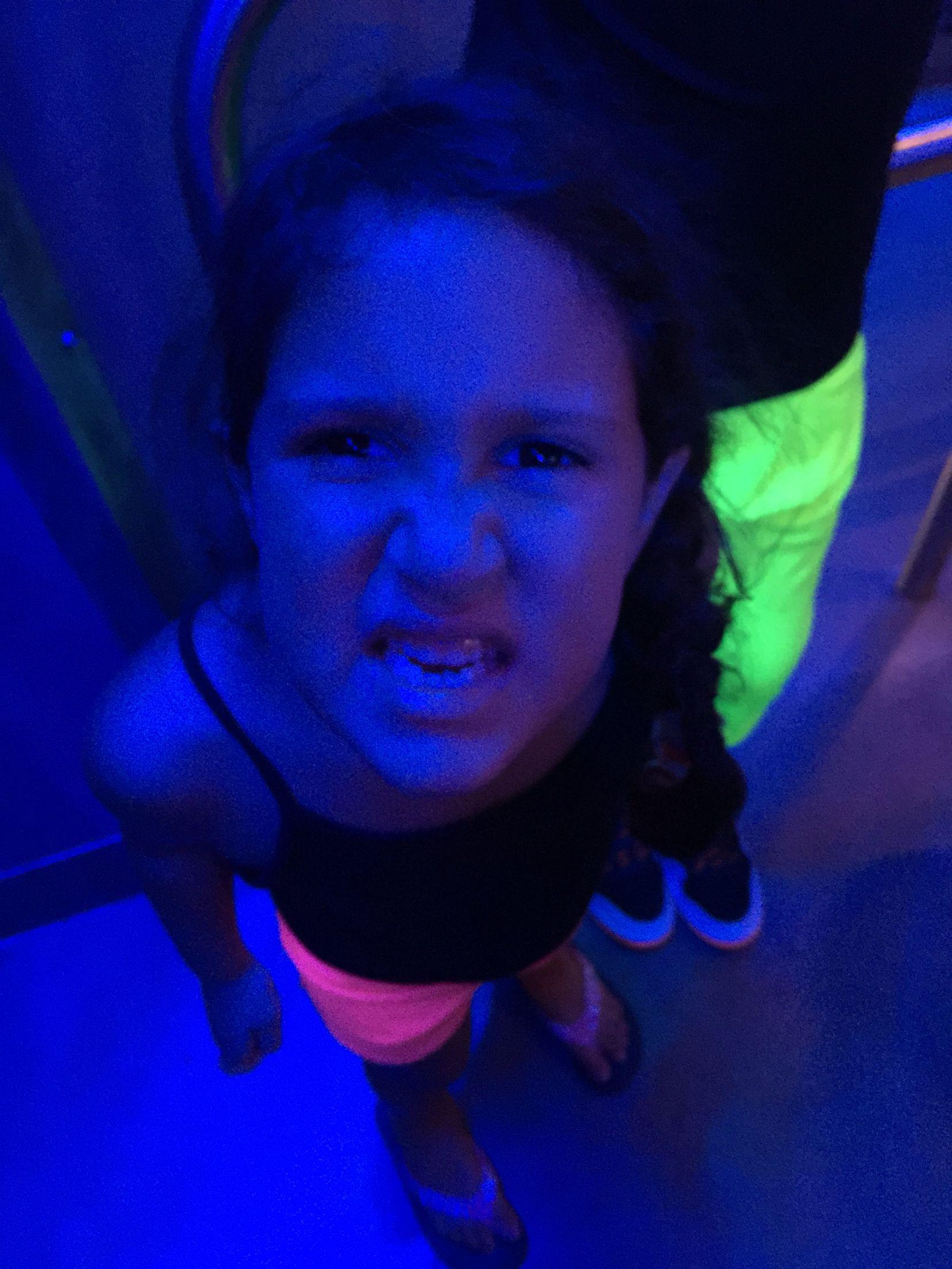 Crazy daughter!