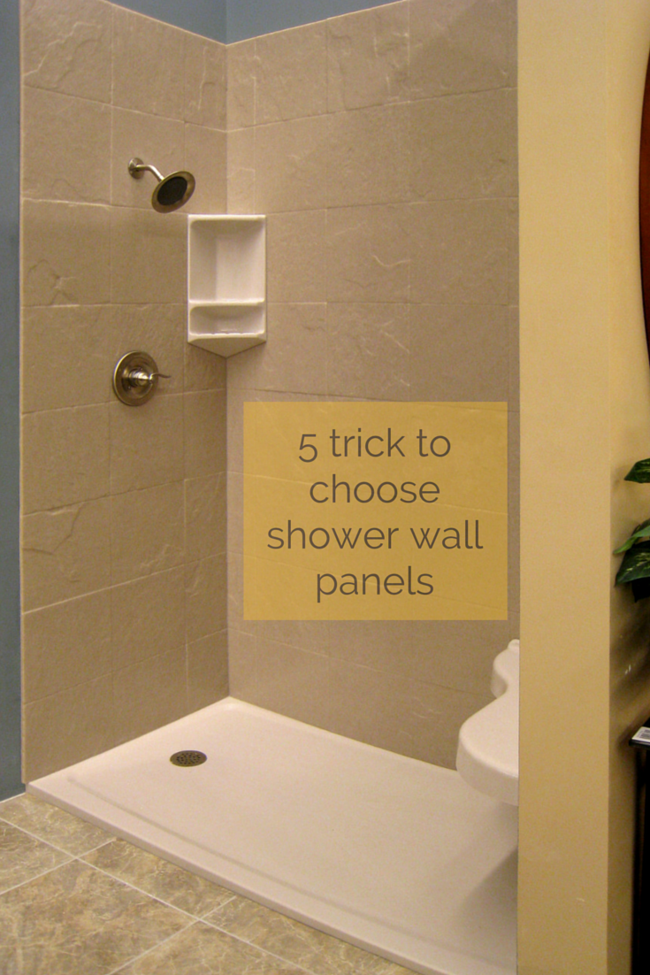 5 Tricks for Choosing Shower Wall Panels | Shower wall panels, Clean ...