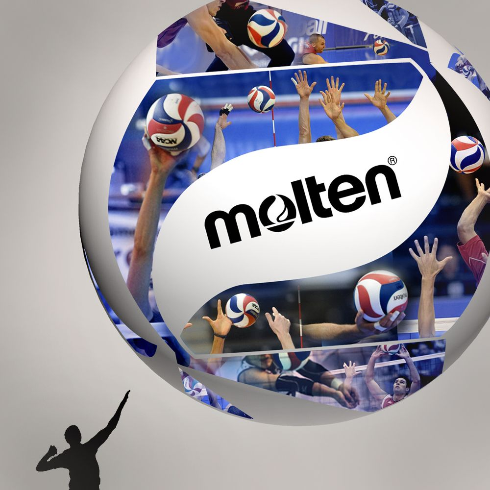 Molten Is The Official Volleyball Of The Ncaa Men S Volleyball Championships Http Moltenusa Com Volleyball Nca Mens Volleyball Volleyball Volleyball Photos