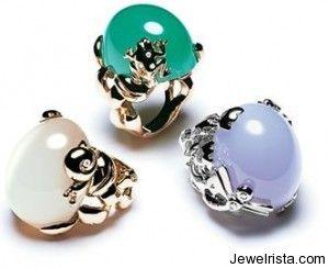 Gourmande Rings by Jewelry Designer Christian Dior Pasin por los