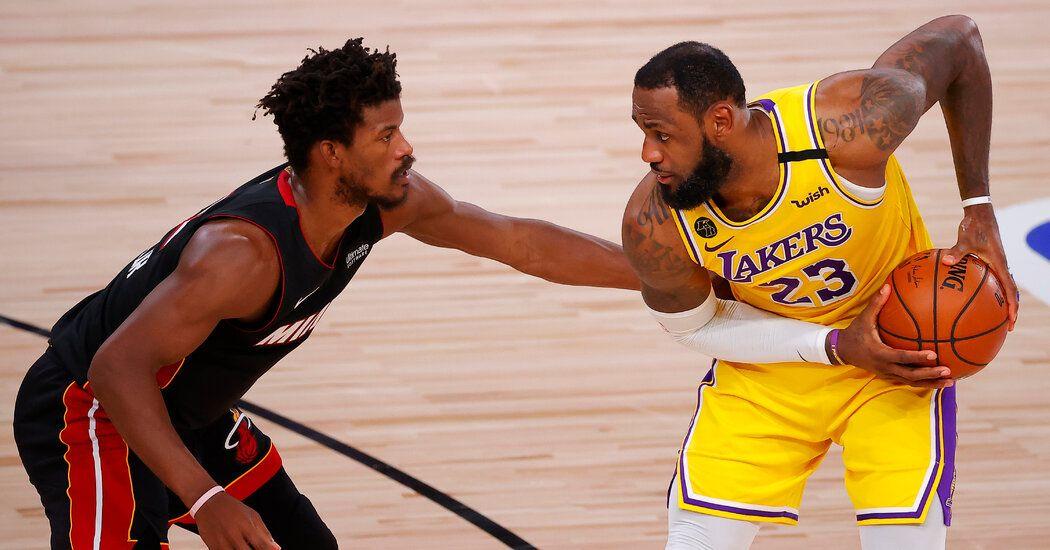 N B A Finals Game 5 Live Updates Lakers Vs Heat In 2020 Lakers Vs Nba Finals Game Nba