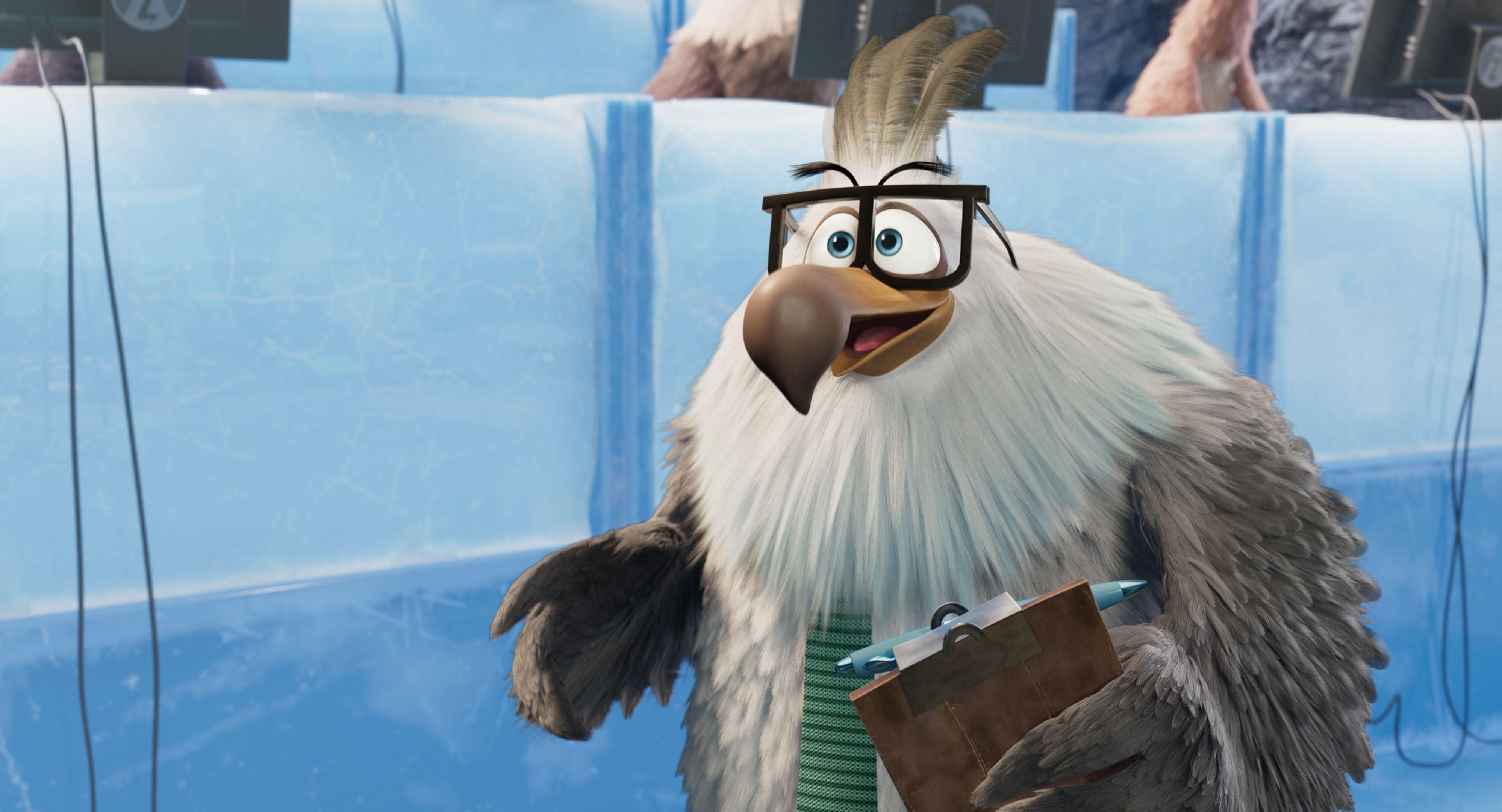 Meet Glenn In The Angry Birds Movie 2 Angry Birds Setima Arte Filmes