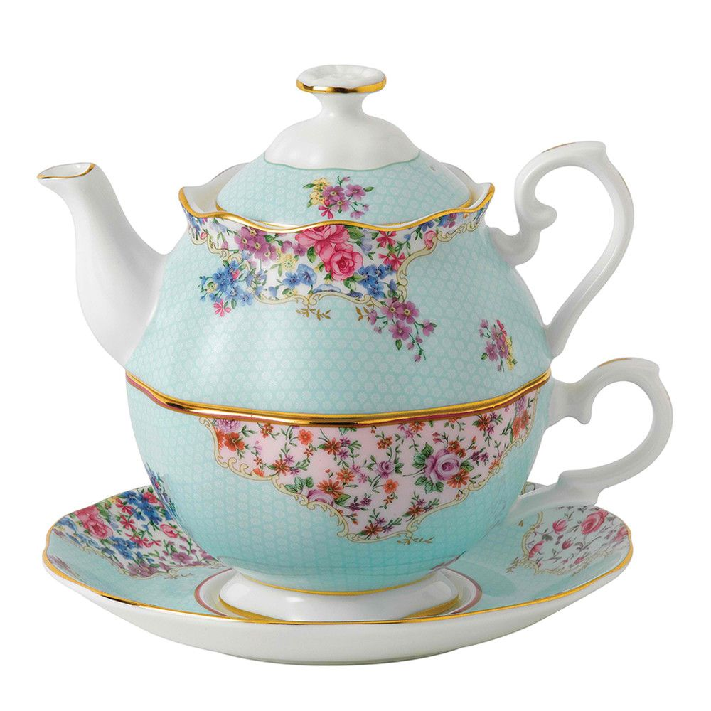 Royal Albert Candy Collection Tea For 1 Pretty Fine Bone China Teapot By Teatime Treats On Pop Tea Pots Pretty Tea Cups Tea For One