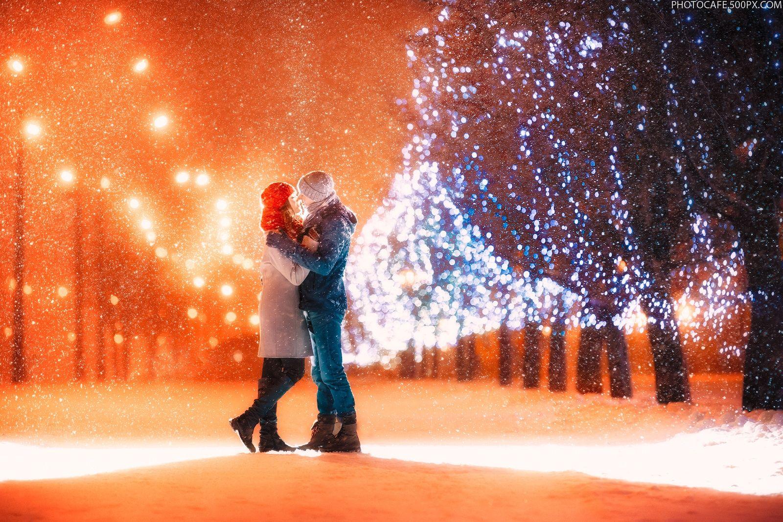 зимняя прогулка с любимым картинки гифы сочная