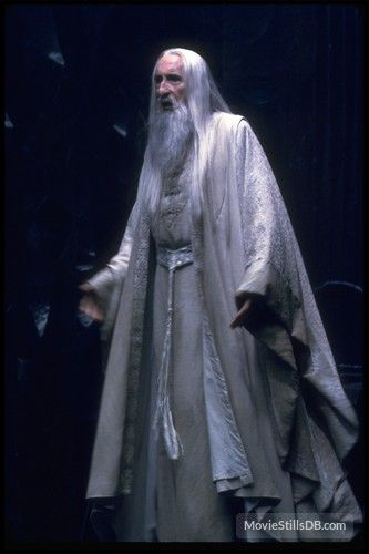 The Lord Of The Rings The Fellowship Of The Ring Publicity Still Of Christopher Lee Lord Of The Rings The Hobbit Lord