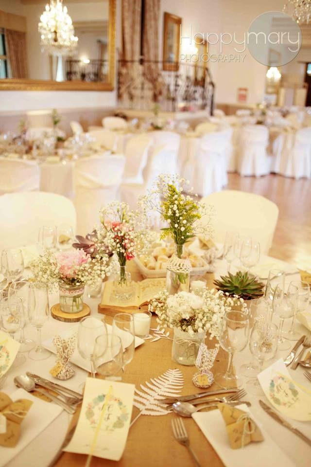 Notre Mariage: La Décoration De Table My Wedding Rustic Decoration. Happy  Chantilly