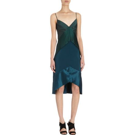 Narciso Rodriguez Tiered Cocktail Dress Sale up to 70% off at Barneyswarehouse.com