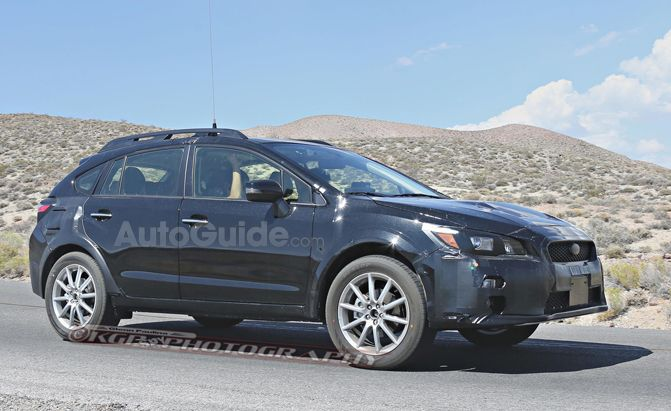 2018 Subaru Crosstrek Xv Turbo Release Car On The Road